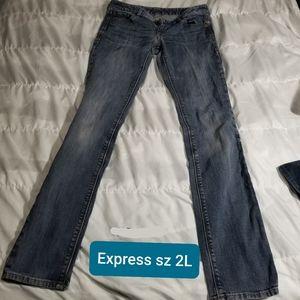 Express jeans size 2L